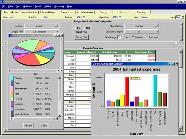 personal financial budgeting software