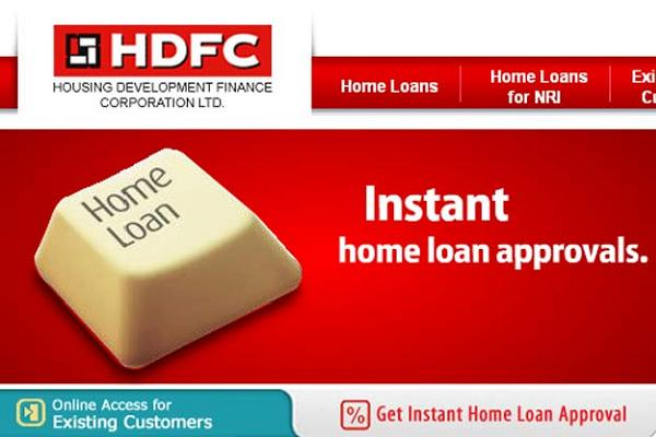 housing loan calculator hdfc bank